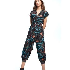 Maeve Geoscope Jumpsuit by Anthropolgie Size M